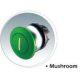 M22 Mushrooms Actuators, UL/CSA 4X, 13 IP 67 69K